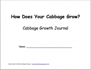 Cabbage Program Growth Journal